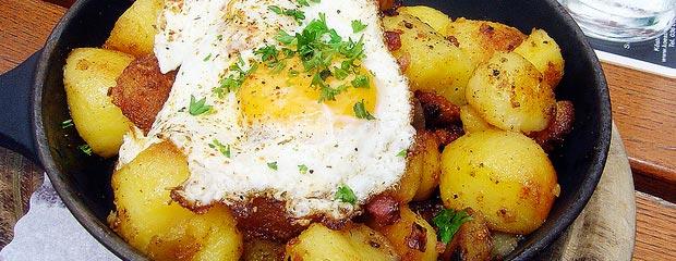 Welche Pfanne für Bratkartoffeln