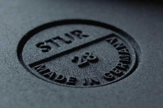 Prägung der STUR-Pfanne